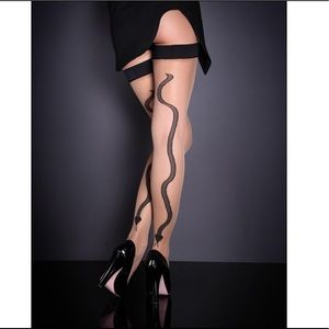 Snake 🐍 Agent Provocateur Thigh Highs Size: 2